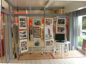 Exposition à Carrefour Market
