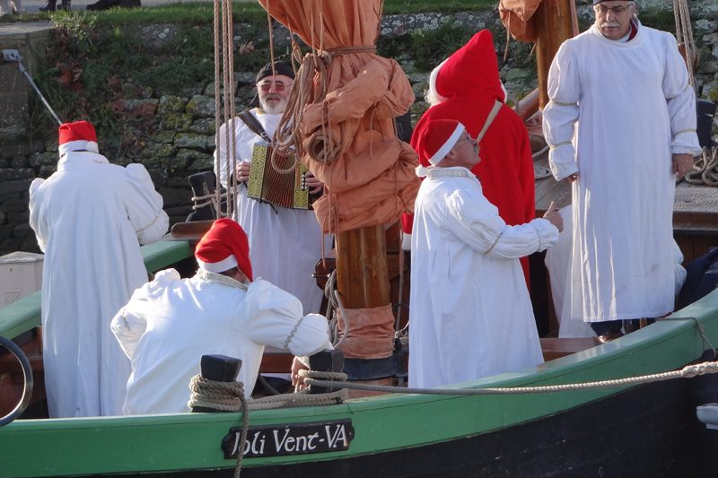 Le Père Noël est arrivé en sinagot