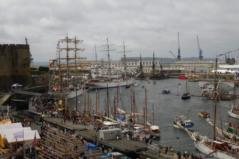 Joli Vent à Brest Douarnenez 2012