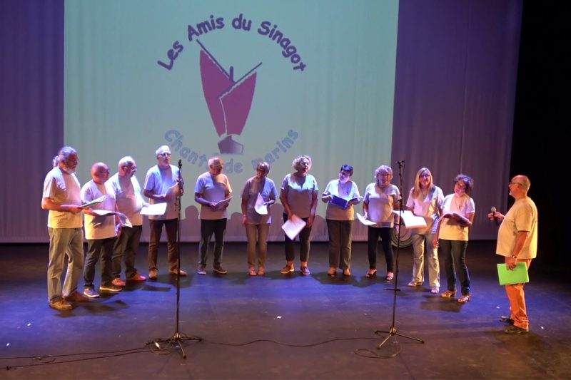 Le groupe Chants de marin